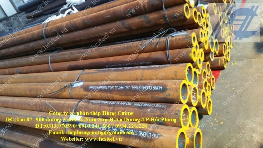ống thép đúc 168 x 22mm x 6m