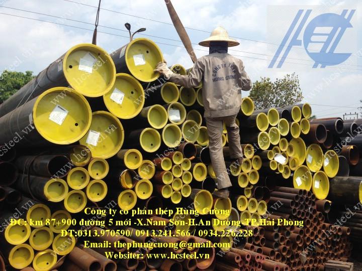 ống thép hàn cao tần 406.4 x 6.35mm x 6m